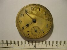 Antique Pocket Watch Movement Working 12s Unbranded