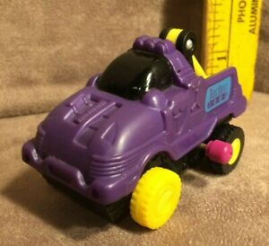 Wendy's 1995 Vintage Techno Tows Purple Tow Truck Wind-up