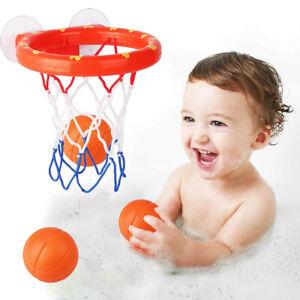 Basketball Kids Bath Toys Hoop Water Play Set For Baby Girl Boy Ball Bathtub