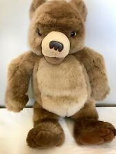 LITTLE BEAR Maurice Sendak Plush Talks Laughs Stuffed Animated Kidpower 1998