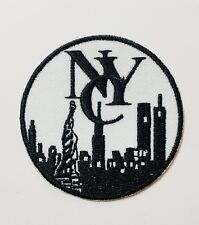 Embroidered New York City Skyline Patch (RD)-- Iron/Sew-on Patch. Free Shipping