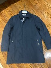 $395 Polo RALPH LAUREN Water-Repellent Commuter Trench Coat Navy Blue size M