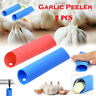 2 pcs Kitchen Tools Garlic Peeler Silicone Tube Roller soft Chef Garlic Peelers