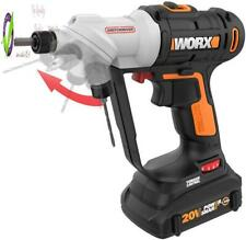 Worx Wx176L 20V Switchdriver 2-In-1 Cordless Drill And Driver With Rotating Dual