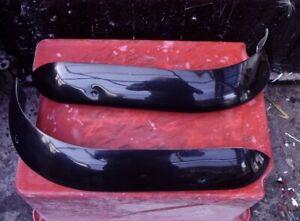 Pr ESCORT MK1 1968-75 Fibreglass 1/4 Bumpers Quarter Bumpers