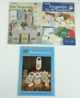 Lot of CROSS STITCH Pattern Designs for FINGERTIPS TOWELS & DOORKNOBS Holidays+