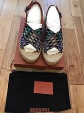 Missoni Wedges, Size 5 (38) 100% Genuine, BNIB.