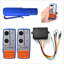 100ft DC12V Autos Pickup Wireless Winch Remote Control Switch Handset For BI567