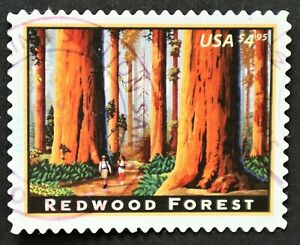 U.S. Used #4378 $4.95 Redwood Forest, VF - XF. Lovely CDS Cancel. Choice!