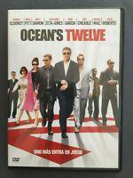 DVD OCEAN'S TWELVE George Clooney Brad Pitt Matt Damon Andy Garcia Julia Roberts