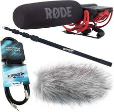 Rode VideoMic Rycote + TAMBURI mpb03 CANNA + ANTIVENTO WH +3m MINI JACK