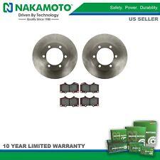 Nakamoto Posi Ceramic Brake Pad & Rotor Kit Front for Toyota Sequoia Tundra NEW