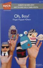 Oh, Boy! Finger Puppet Pattern Kids Pattern Carrie Bloomston SUCH DESIGNS