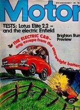 MOTOR Magazine - November 1 1980 - Test: Lotus Elite 2.2