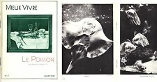 C1 LYON Marius MERMILLON Le POISSON 1939 PHOTOS Besson STEINER