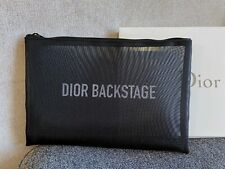 NEW DIOR Backstage Black Travel Bag Organiser Makeup Bag BNIB 30X20cm