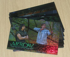 2014 Cryptozoic ARROW Training 9-card chase set TR1-TR9