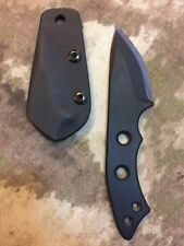 WARREN THOMAS Custom Knife TITANIUM CARBON FIBER mod zt ek