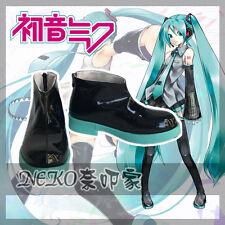 Vocaloid Hatsune Miku cosplay shoes Unisex Men Women Customized