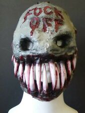 Grin Smiley Mask horror haunt devil Halloween costume festival band The Purge
