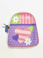 Stephen Joseph Little Girls' Go-go Bag Heart Design Backpack Age 3-8 Pink Purple