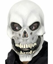 Skull Mask Evil Mens Halloween Skeleton Grim Reaper Fancy Dress Accessory