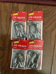 Arkie Jog Heads 1/4oz (4 packs) 40 total PBT-14