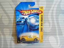 2007 HOT WHEELS ''NEW MODELS''  #017 = FORD GTX-1 = YELLOW