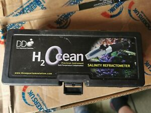 D-D H2Ocean Saltinity Refractometer for marine reef tank aquarium