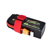 14,8V 2200mAh 60C 4S Lipo Batterie XT60 Stecker für RC Drone Helicopter Auto