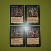 Diabolic Servitude x4 Urza's Saga 4x Playset Magic the Gathering MTG