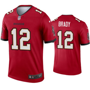 Tampa Bay Buccaneers Jersey Men's Nike Legend Jersey - Brady 12 - New