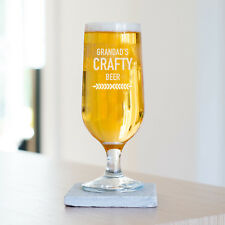 Personalised Craft Beer Glass, Tall Beer Glass (L2D1)