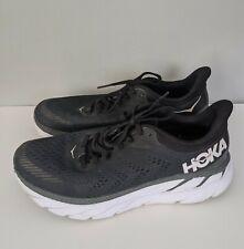 Hoka One One Clifton Running Shoes black men's Size 9.5