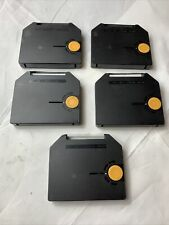 Lot of 5) Genuine OEM Olivetti Praxis 20 Typewriter Correctable Carbon  Ribbons