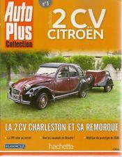AUTO PLUS COLLECTION 2CV CITROEN 3 LA 2CV CHARLESTON ET SA REMORQUE LA TPV