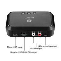NFC 3.5mm Speaker Wireless Bluetooth V4.1 Stereo Audio Music Receiver Adapter