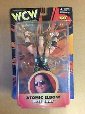 OSFTM WCW ACTION FIGURE MOC BRET THE HITMAN HART WRESTLING ACTION FIGURE wwf wwe
