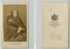 Mayer et Pierson, Impératrice Eugénie CDV vintage albumen carte de visite,  Ti