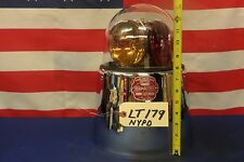 Federal Beacon Ray Model 175-H NYPD Light TALL skirt 4416A Amber Bulb