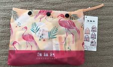 Envirosax Colourful PALM SPRINGS Reusable Shopping Bags Set of 5 with POUCH