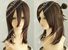 100% Real hair! New Korean Fashion Handsome dark Brown Really Hair Wig