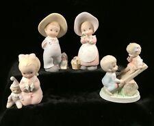 Set of 4 Homco figurines