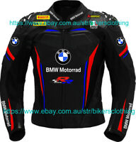 BMW Motorrad racing Motorcycle Leather Jacket Sports Motorbike Leather Jackets