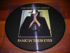 Sisters Of Mercy Panic In Their Eyes Lp Picture Vinyl (Goth Rock,Dark,Gothic)