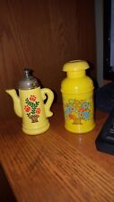 lot 2 avon coffee pot and milk can decanters Rare Vintage