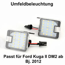 2x TOP LED SMD Umfeldbeleuchtung 6000K Weiß Ford Kuga II DM2 ab Bj. 2012 (7908)