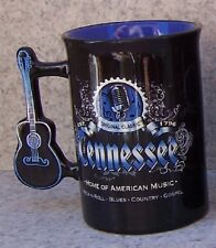 Coffee Mug Entertainment Tennessee Guitar Handle NEW 16 ounce cup with gift box