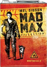 Mad Max Collection Gas Tin Limited Edition Blu-ray 3 original films metal box
