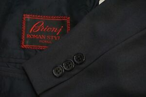 Brioni Blue/Gray 100% Wool Sport Coat Jacket Sz 52EU 42US Made In Italy